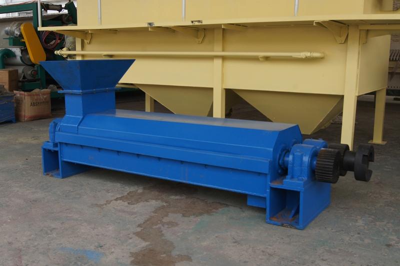 250型双螺旋挤浆机